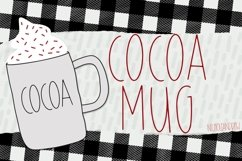 Cocoa Mugs - An All Caps Font Product Image 1