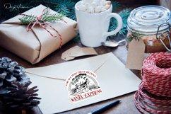 Santa Express and North Pole Express Sticker Set Product Image 2