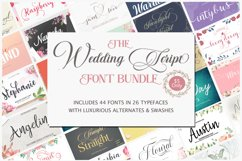The wedding Script Font Bundle Product Image 1