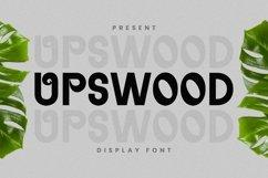 Web Font Upswood Font Product Image 1
