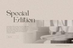 Vallery Qylmor Modern Elegant Serif Product Image 3