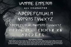 Vampire Emperor - Halloween Display Font Product Image 3