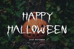 Web Font Vampire Emperor - Halloween Display Font Product Image 4