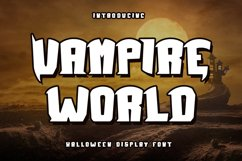 Vampire World - Halloween Display Product Image 1