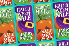 Vampire Zone a Bouncy Spooky Font Product Image 6