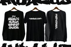 Vandalust Graffiti Font Product Image 4