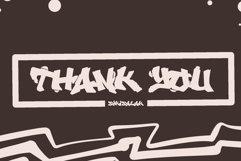Vandalust Graffiti Font Product Image 2