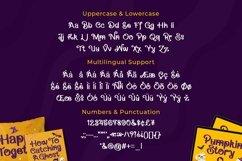 Web Font Vantage - Halloween Font Product Image 2