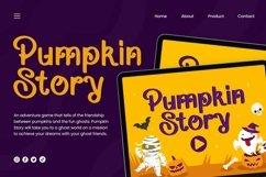 Web Font Vantage - Halloween Font Product Image 4
