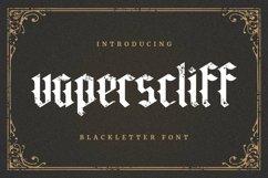 Web Font Vaperscliff Product Image 1