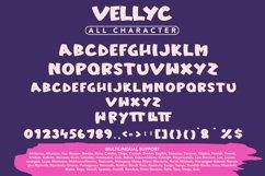 Vellyc - Fun Sans Serif Font Product Image 5