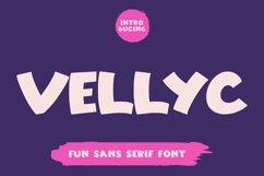 Vellyc - Fun Sans Serif Font Product Image 1