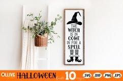 Halloween Bundle SVG | Halloween Vertical Sing SVG Product Image 3