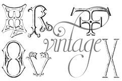 Victorian Alphabets Seven Product Image 4