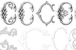 Victorian Alphabets C Product Image 4