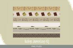 Vintage Book Seamless Pattern Strips Product Image 1