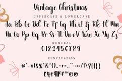 Vintage Christmas - Lovely Script Font Product Image 2