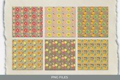 Vintage Orange Seamless Pattern Paper Pack Product Image 1