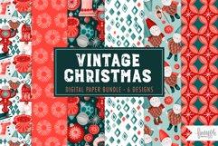 VINTAGE CHRISTMAS PATTERN BUNDLE DH Product Image 1
