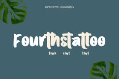 Volatter Display Font Product Image 4