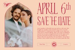 Vows Display Font Product Image 4