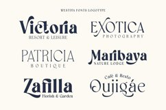 Westiva - Elegant Display Fonts Family Product Image 6
