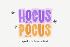 Hocus Pocus a Halloween Font for Crafters Product Image 1