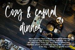 Waitress - Beauty Script Font Product Image 2