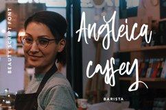 Waitress - Beauty Script Font Product Image 5