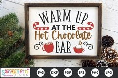 Warm up at the Hot Chocolate Bar SVG Product Image 1