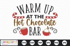 Warm up at the Hot Chocolate Bar SVG Product Image 2
