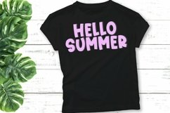 Web Font Water Park - A Quirky Handlettered Font Product Image 2