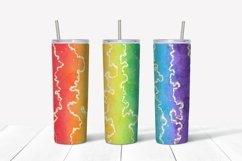 Watercolor rainbow sublimation design