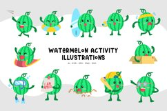 Watermelon Activity Illustrations Product Image 1