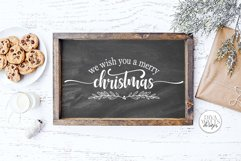We Wish You A Merry Christmas SVG | Winter Design Product Image 3