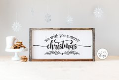 We Wish You A Merry Christmas SVG | Winter Design Product Image 1