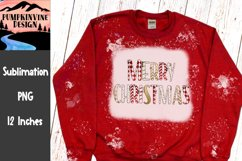 Merry Christmas doodle letters Product Image 1