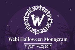 Webi Halloween Monogram Product Image 1