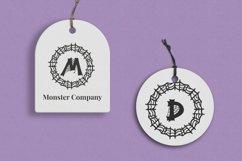 Webi Halloween Monogram Product Image 2