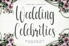 Wedding Celebrities - Beautiful Script Font Product Image 1