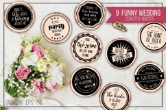 Funny wedding coaster quotes Product Image 1