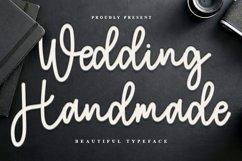 Wedding Handmade - Sweet Handwritten Font Product Image 1