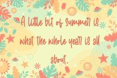 Welcome Sunshine - Summer Handwritten Font Product Image 5