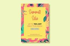 Web Font Welcome Sunshine - Summer Handwritten Font Product Image 2