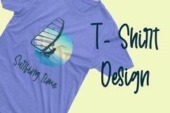 Web Font Welcome Sunshine - Summer Handwritten Font Product Image 3