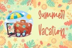 Web Font Welcome Sunshine - Summer Handwritten Font Product Image 6