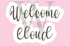 Welcome - Modern Script Font Product Image 3
