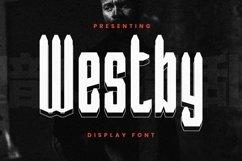 Web Font Westby Product Image 1