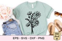 Wildflowers SVG Bundle set Product Image 2