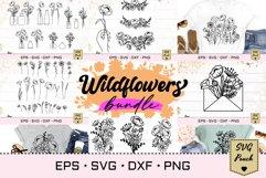 Wildflowers SVG Bundle set Product Image 1